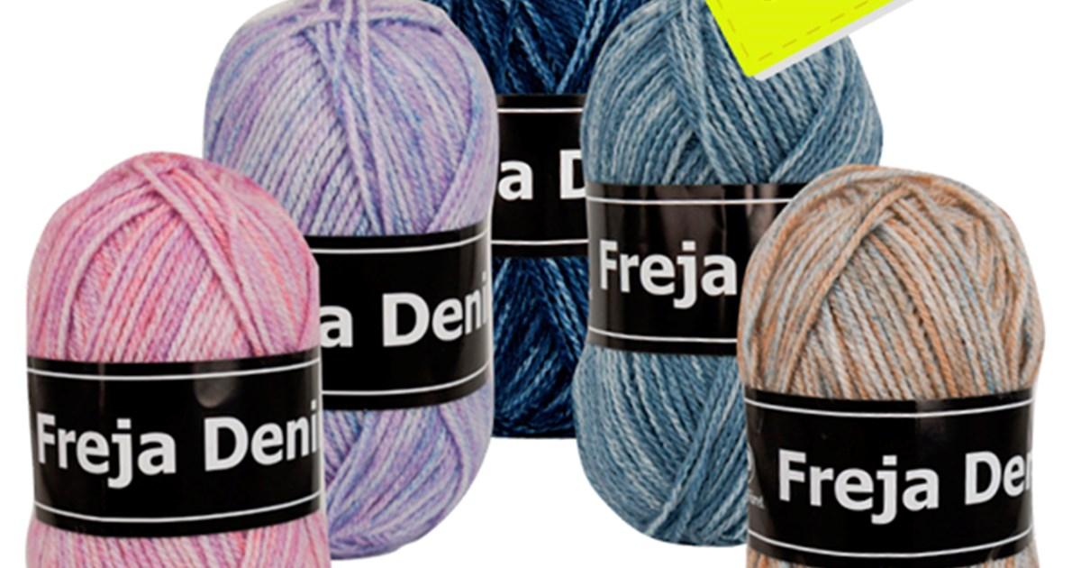 b877711e0b8 Køb Freja Denim akrylgarn fra Svarta Fåret her. Priser fra kun 14 kr.