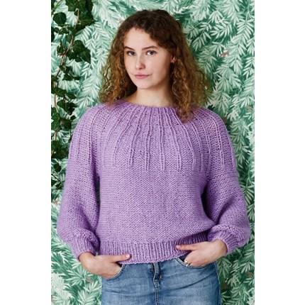 a9bb9e9b Alice opskrift nr. 896247 Luftig sweater m. ballonærme